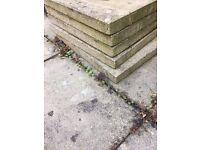 28 sqm Concrete paving 60 cm x 60 xm
