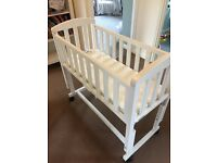 Kooltrade jack and lily bedside crib