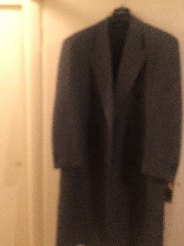 Gents 100% Wool Double Breasted Coat