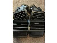 Bmw 3 series air vent set E46 325i 2004 middle and sides