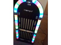 Blutooh juke box with lights