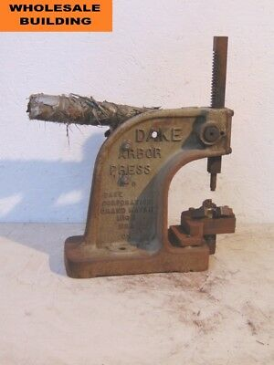 Dake Arbor Press No. 0 1-12 Ton