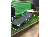 New sunloungers