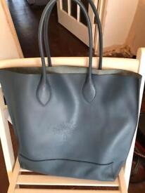 Mulberry blue tote