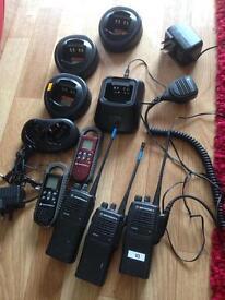 Motorola radio communication