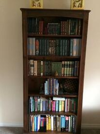 Solid Wood Bookcases SOLD