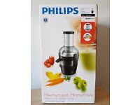 Brand Brand New Boxed, Philips Viva Collection Juicer HR1857/71, Retails for £100