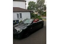 Bmw 3 series convertible m sport red leather i drive