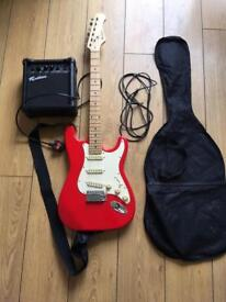 Electric guitar Rockburn amp bag included