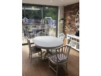 Shabby chic / rustic dining table