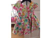 New! 2 piece designer dress size 12 months