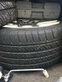 2 tyres for sale 235/35/19