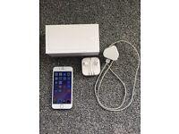 Unlocked Silver Iphone 6