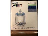 Brand new Phillips Avent Bottle and Food warmer