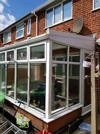 3.2m x 2.3m conservatory