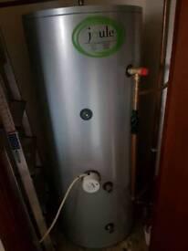 170 ltr pressurised direct hot water cylinder