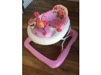Bright Starts Baby Walker - Pink