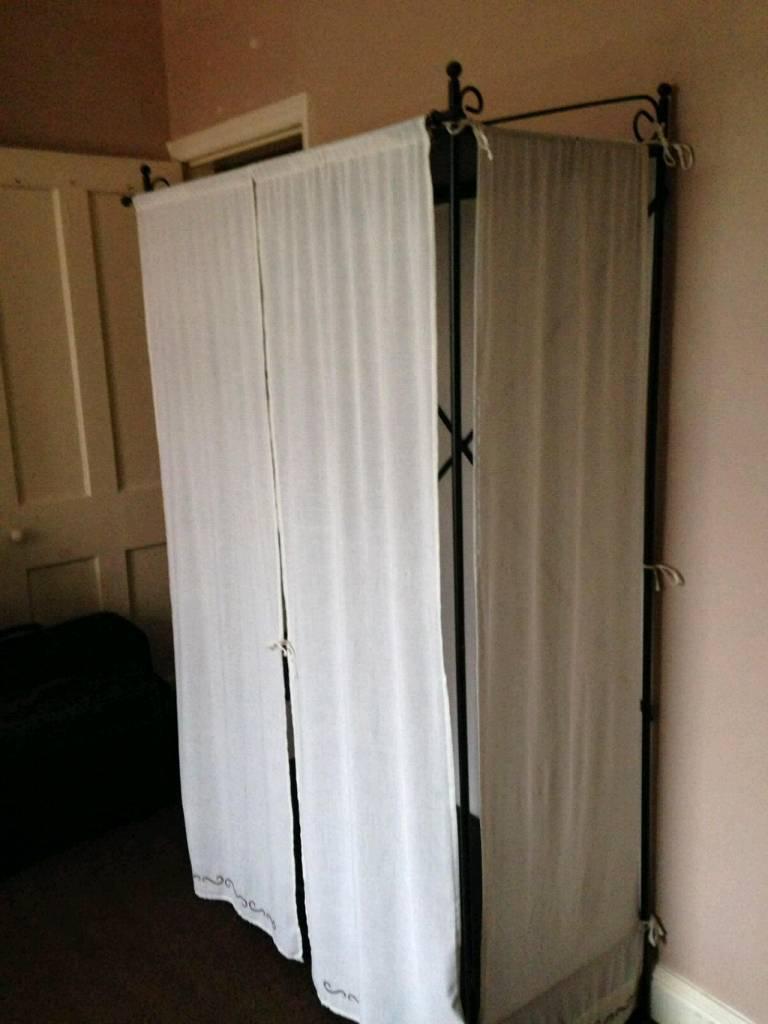 MansfieldNottinghamshire Linen Frame Gumtree Metal WardrobeikeaIn POkTiZXu