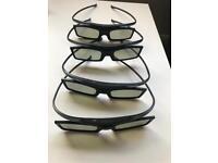 Samsung Active 3D Glasses x4