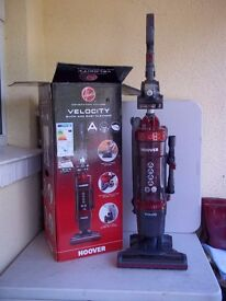 Hoover Velocity Bagless Upright Vacuum Cleaner *A RATED* Pet Hair, Ex-demo model as new