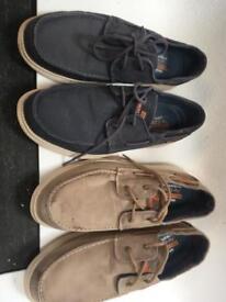 Sketchers Boat shoes uk 9