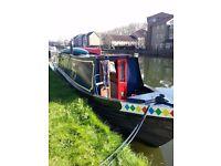Narrowboat 'Sovereign' 40'