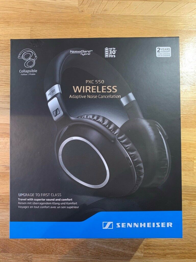 47010d8dcd2 Sennheiser PXC 550 Wireless Noise Cancelling Headphones | in ...