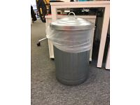 OFFICE CLEARANCE >>> 3 x Habitat Alta 32L: Steel Kitchen Bin