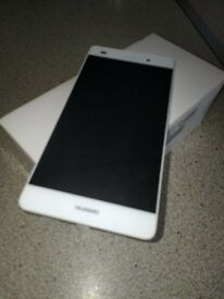 Huawei p8 lite.16gb White. Fully working. Unlocked and boxed.