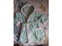 FOR SALE: Baby bathrobe with hood (18 months)