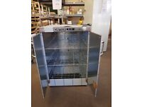 Caterlux Hot Cupboard 3KW brand new still protective plastic was £675 60cm x 60cm 90cm high now £450
