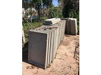 Garage - concrete panel