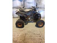 Yamaha raptor road legal quad bike