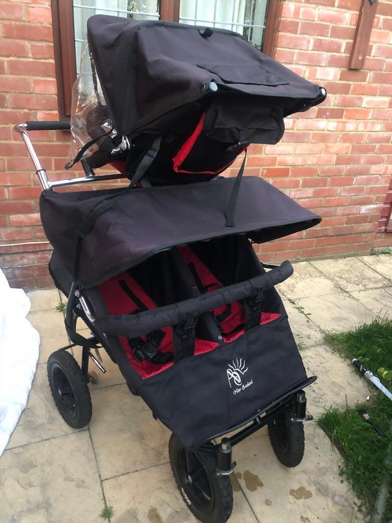 Abc Triple Buggy Adventure Buggy Triplet Pushchair In
