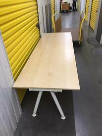 Office table hardly used for sale!