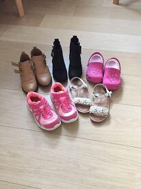 Girls bundle shoes & boots
