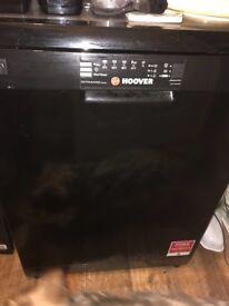 Hoover Black Dishwasher