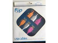 Flip Video USB cables, new