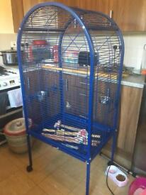Parrot cage sold