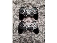 Official sony ps3 dualshock 3 controller new x2