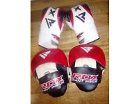 RDX Boxing Pads & Gloves