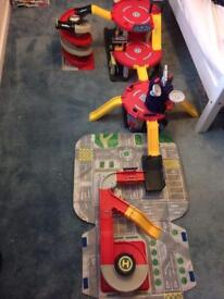 Mothercare toy garage - 4 parts