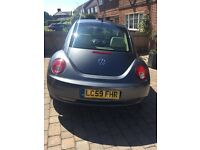 1.9 tdi Beetle, 57000, 3 owners, service history, mot until sept