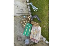 Job lot mixed hardware to go - see 2 pics for all items