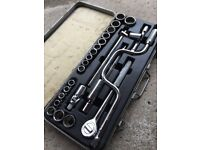 24pce socket set