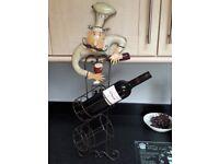 Chef kitchen characters / wine racks