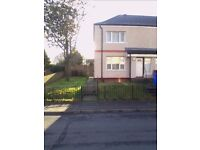 2 bedroom semi detached council house to swap in Stirling