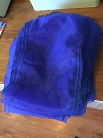 Chair sashes blue x 36