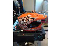 Wulf sport junior helmet been used 2s