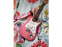 Pink Westfield Electric Guitar